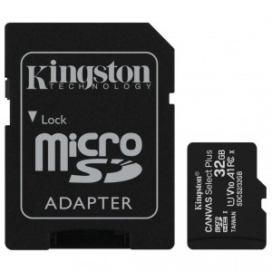 Карта памяти microSD 32Gb Kingston Canvas Select Plus SDCS2/32GB