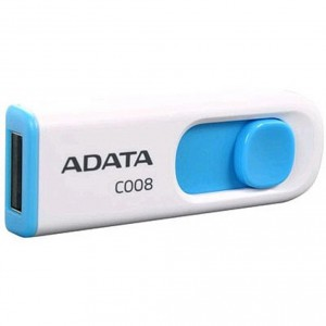 USB Flash drive 32Gb A-Data Classic C008 AC008-32G-RWE White