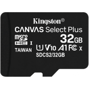 Флеш карта microSD 32Gb Kingston Canvas Select Plus SDCS2/32GBSP Class 10 UHS-I
