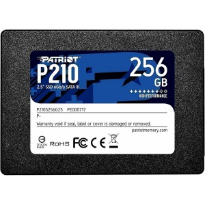 Диск SSD 25 256Gb Patriot P210 P210S256G25