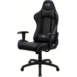 Игровое компьютерное кресло Aerocool AC110 AIR-BB Black/Blue