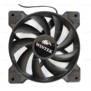Вентилятор для корпуса Wintek M1-12BL 120х120мм 1100±10% rpm 3+4pin Black