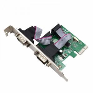 Контроллер PCI-Ex1> 2xRS-232 (COM) CH382L