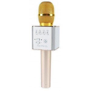 Bluetooth караоке-микрофон SoundWave Q9 Gold
