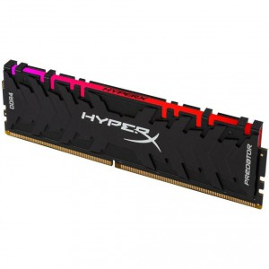 Оперативная память DDR4 3200/16Gb Kingston HyperX Predator RGB HX432C16PB3A/16