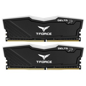Оперативная память DDR4 2666/16Gb (8Gbx2) Team Delta R RGB Black  TF3D416G2666HC15BDC01