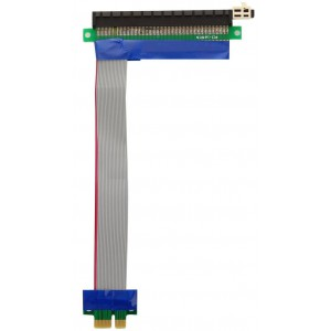 Кабель-переходник PCI-Ex1 Male to PCI-Ex16 Female 15см EPCIEX1-X16 rc