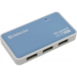 HUB USB 20 Defender Quadro Power 4 Port