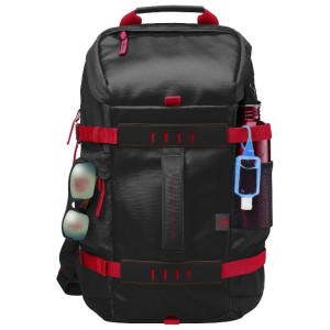 Cумка для ноутбука HP Odyssey Backpack 156 X0R83AA Black\Red