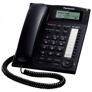 Телефон Panasonic KX-TS2388RUB черный