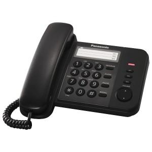 Телефон Panasonic KX-TS2352RUB черный