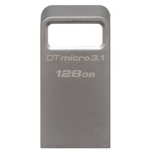USB Flash drive 128Gb Kingston DataTraveler Micro 31 DTMC3/128GB Silver USB31