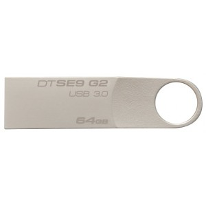 USB Flash drive 64Gb Kingston DataTraveler SE9G2 DTSE9G2/64GB Silver USB30