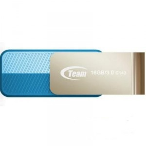 USB Flash drive 16Gb Team Group T143 TC143316GL01 Silver/Blue USB30