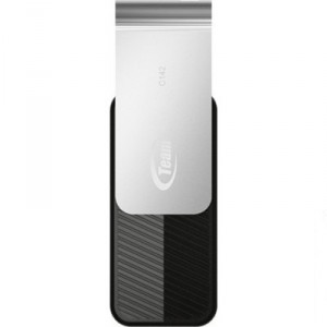 USB Flash drive 8Gb Team Group C142 TC1428GB01 Black/Silver USB20