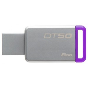 USB Flash drive 8Gb Kingston DataTraveler DT50/8GB Silver USB31