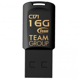 USB Flash drive 16Gb Team Group C171 TC17116GB01 Black USB20