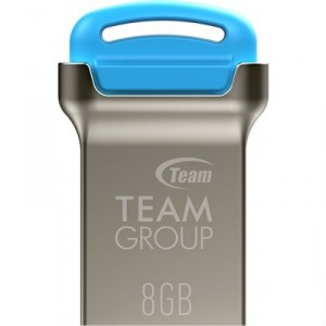 USB Flash drive 8Gb Team Group C161 TC1618GL01 Silver-Blue USB20
