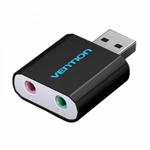Звуковая карта USB Vention`VAB-S17-B